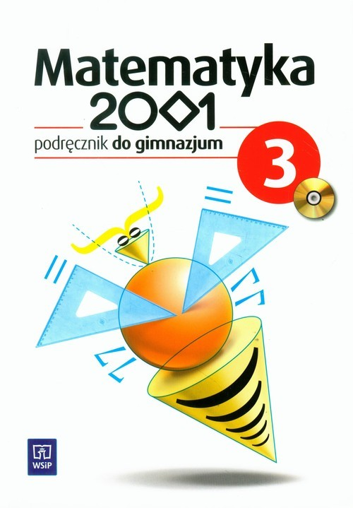 okładka Matematyka 2001 3 Podręcznik gimnazjum, Książka | Anna Dubiecka, Barbara Dubiecka-Kruk, Góralew