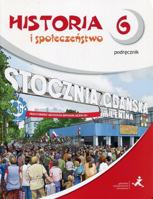 okładka Wehikuł czasu Historia i społeczeństwo 6 Podręcznik Szkoła podstawowa, Książka | Małkowski Tomasz
