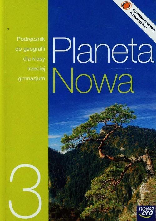okładka Planeta Nowa 3 Podręcznik Gimnazjum, Książka   Szubert Mariusz