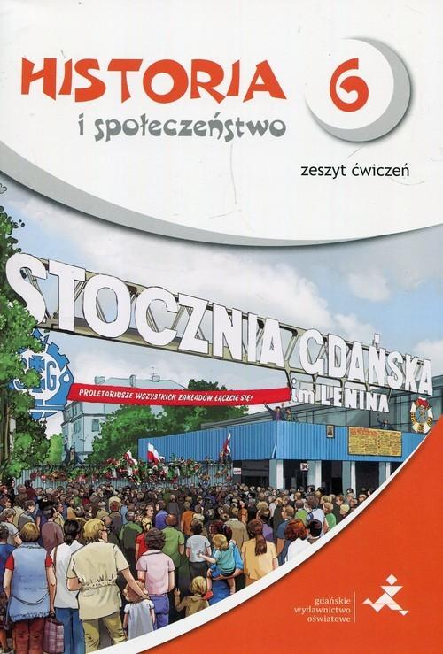 okładka Wehikuł czasu Historia i społeczeństwo 6 Zeszyt ćwiczenia Szkoła podstawowa, Książka | Małkowski Tomasz