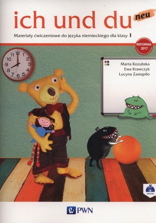okładka ich und du neu 1 Materialy ćwiczeniowe Szkoła podstawowa, Książka | Marta Kozubska, Ewa Krawczyk, Lucyn Zastapiło