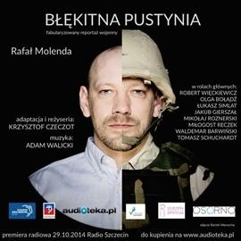 okładka Błękitna Pustynia, Audiobook | Rafał Molenda