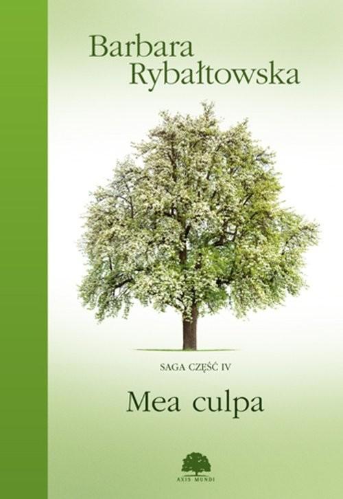 okładka Mea culpa, Książka | Rybałtowska Barbara