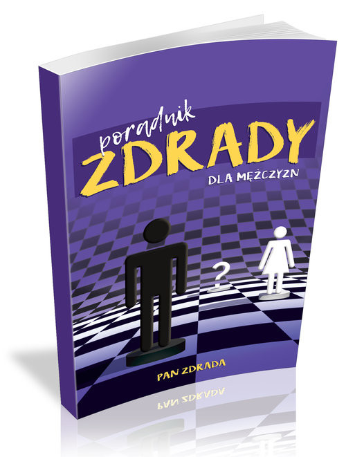 okładka Poradnik zdrady dla mężczyzn, Książka | Pan Zdrada