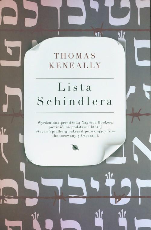 okładka Lista Schindleraksiążka      Keneally Thomas