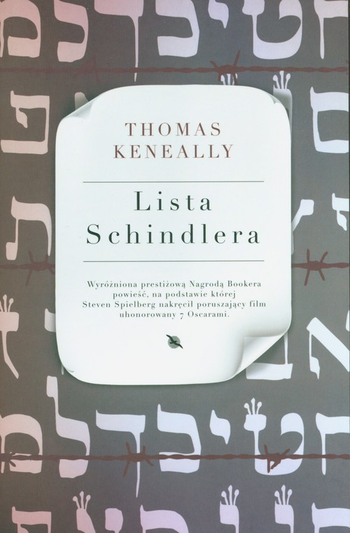 okładka Lista Schindlera, Książka | Keneally Thomas