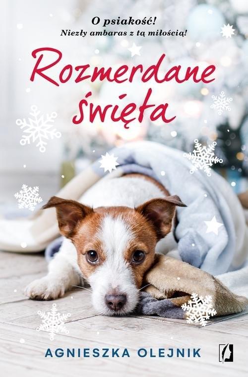 okładka Rozmerdane święta, Książka | Agnieszka Olejnik