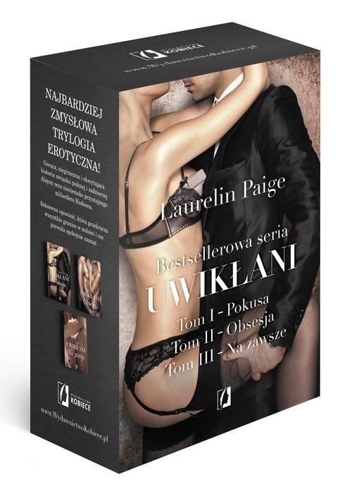 okładka Uwikłani 3 Tomy: Pokusa, Obsesja, Na zawsze Pakiet, Książka | Paige Laurelin