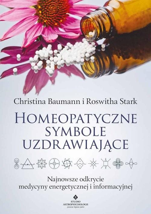okładka Homeopatyczne symbole uzdrawiające, Książka | Baumann Christina
