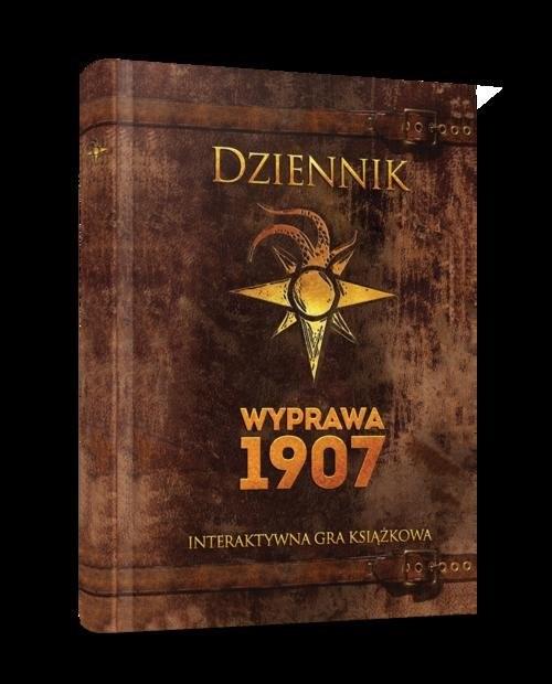 okładka Dziennik Wyprawa 1907, Książka |