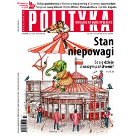 okładka AudioPolityka Nr 33 z 14 sierpnia 2019, Audiobook | Polityka