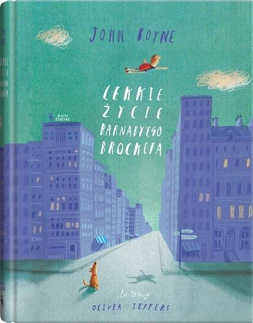 okładka Lekkie życie Barnaby'ego Brocketa, Książka | Boyne John