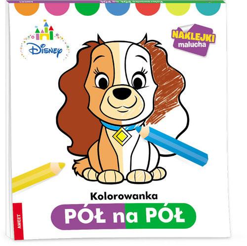 okładka Disney Maluch Kolorowanka pół na pół/PNP-1 PNP-1, Książka | Praca Zbiorowa