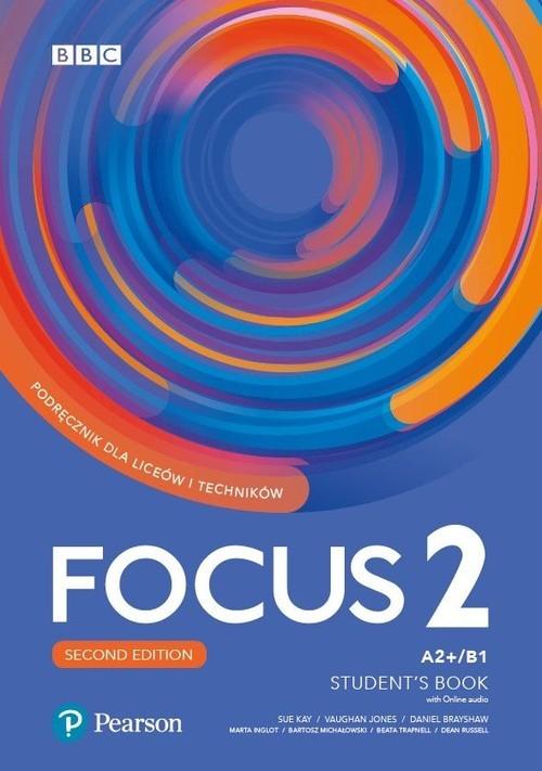 okładka Focus 2 Student's Book Podręcznik dla liceów i techników, Książka |