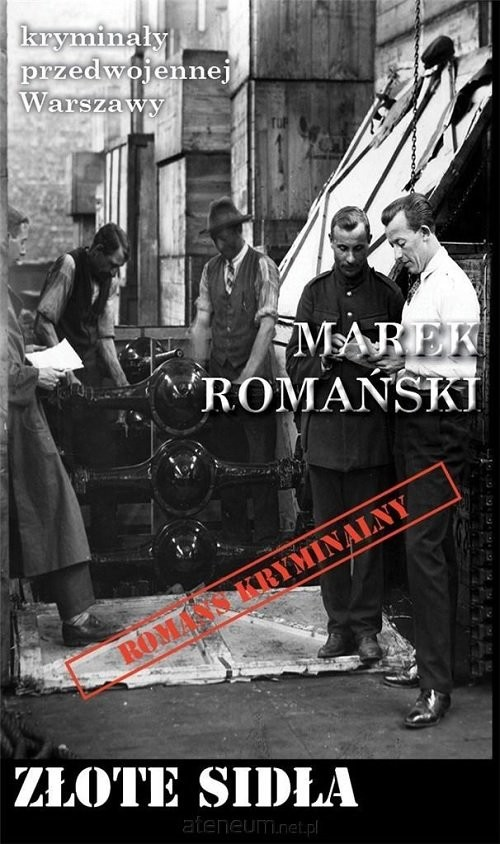 okładka Złote sidła, Książka | Marek Romański