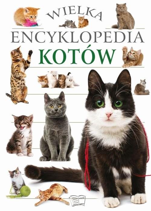 okładka Wielka encyklopedia kotów, Książka |