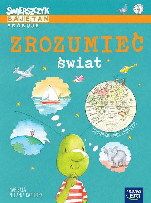 okładka Świerszczyk Bajetan próbuje zrozumieć świat, Książka | Kapelusz Melania