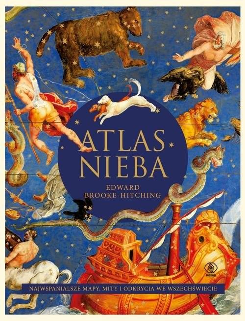 okładka Atlas nieba, Książka | Brooke-Hitching Edward