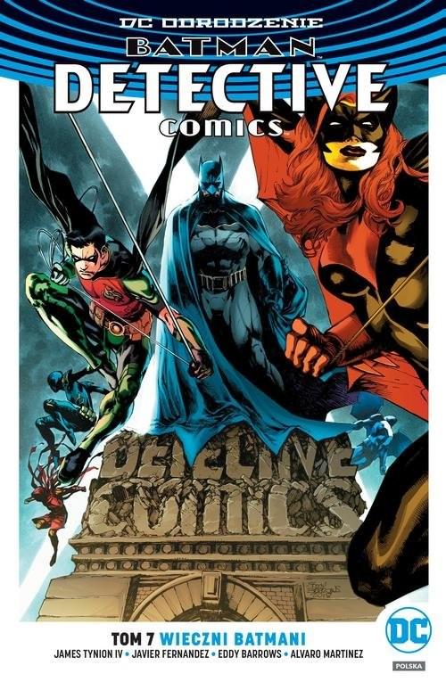 okładka Batman Detective Comics T.7 Wieczni Batmani, Książka | Tynion.IV James