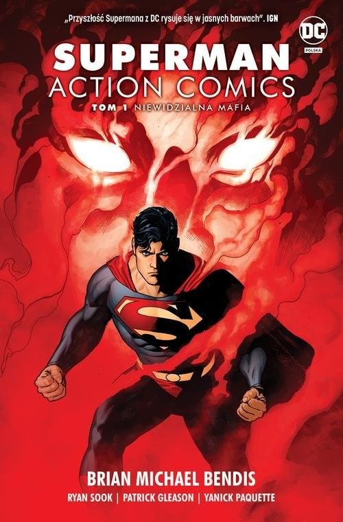 okładka Superman Action Comics T.1 Niewidzialna mafia, Książka | Brian Michael Bendis