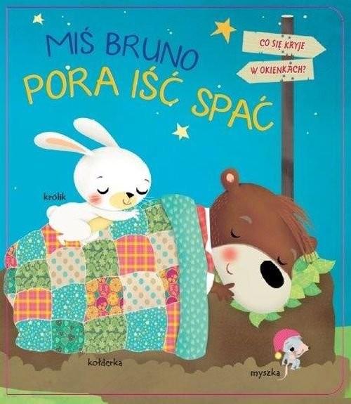 okładka Miś Bruno II Pora iść spać, Książka   różni