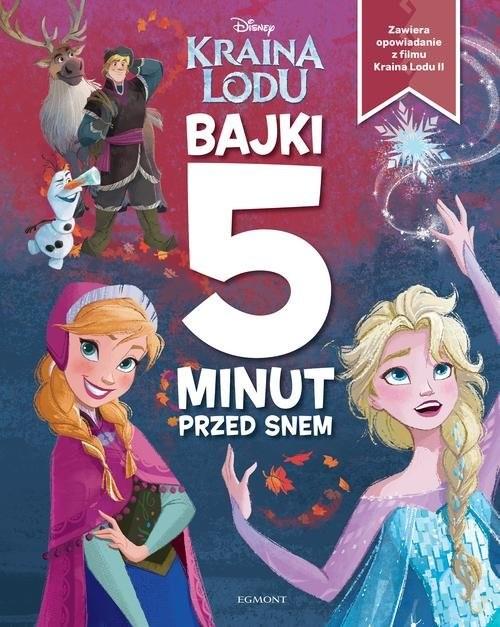 okładka Kraina Lodu Bajki 5 minut przed snemksiążka |  | Opracowanie zbiorowe
