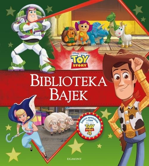 okładka Toy Story Biblioteka Bajek, Książka | Opracowanie zbiorowe