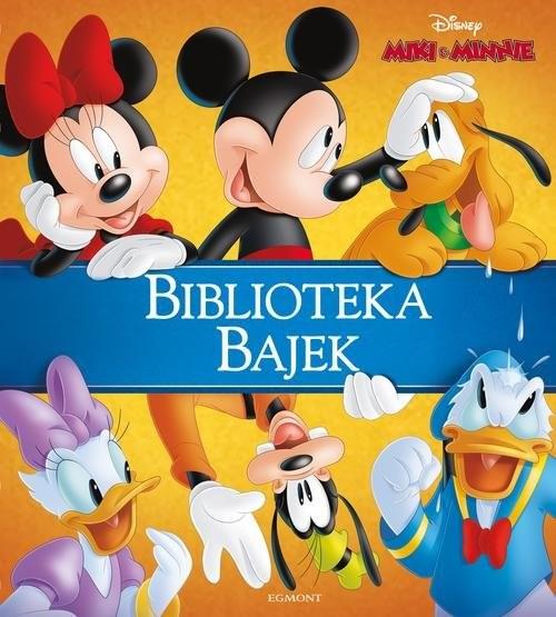 okładka Miki & Minnie Biblioteka Bajek, Książka | opracowanie zbiorowe .