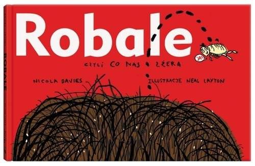 okładka Robale wyd.4 czyli co nas zżera, Książka | Davies Nicola