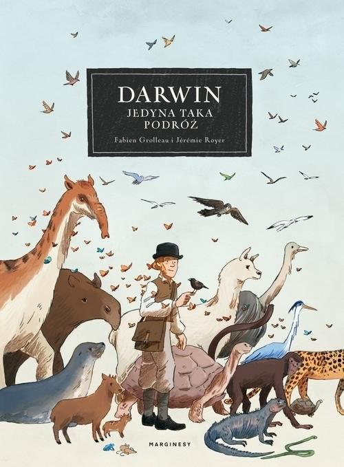 okładka Darwin Jedyna taka podróż, Książka | Fabien Grolleau, Jérémie Royer