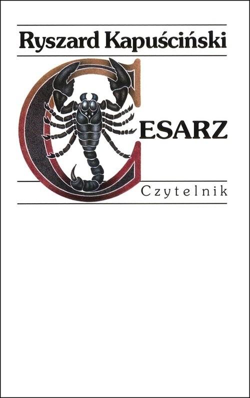 okładka Cesarz, Książka | Kapuściński Ryszard