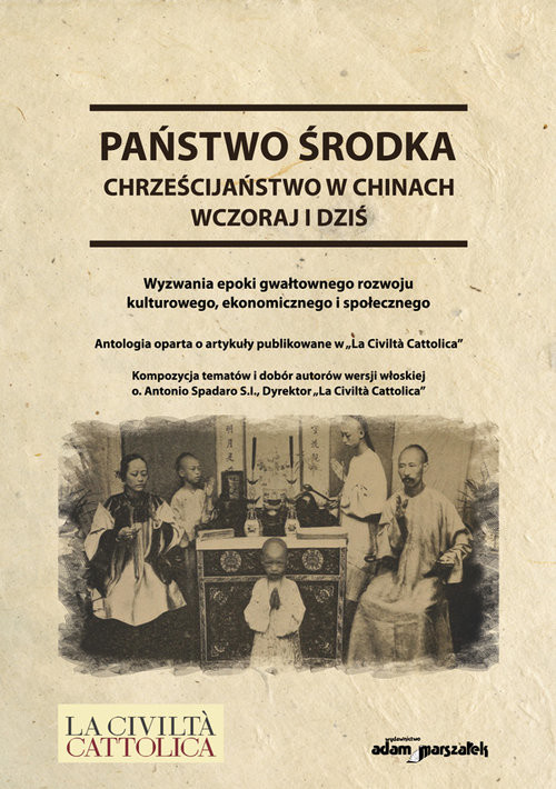 okładka Państwo środka Chrześcijaństwo w Chinach wczoraj i dziś, Książka | Koprowski Andrzej S.I. o.