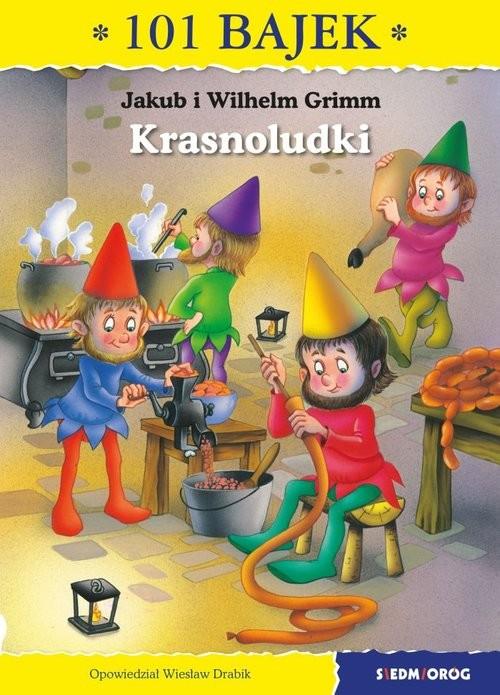 okładka Krasnoludki 101 bajek, Książka | i Wilhelm Grimm Jakub