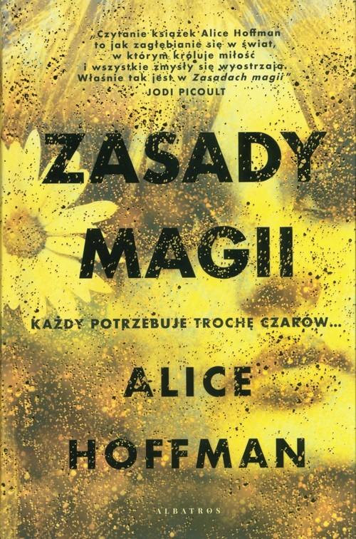 okładka Zasady magii, Książka | Hoffman Alice