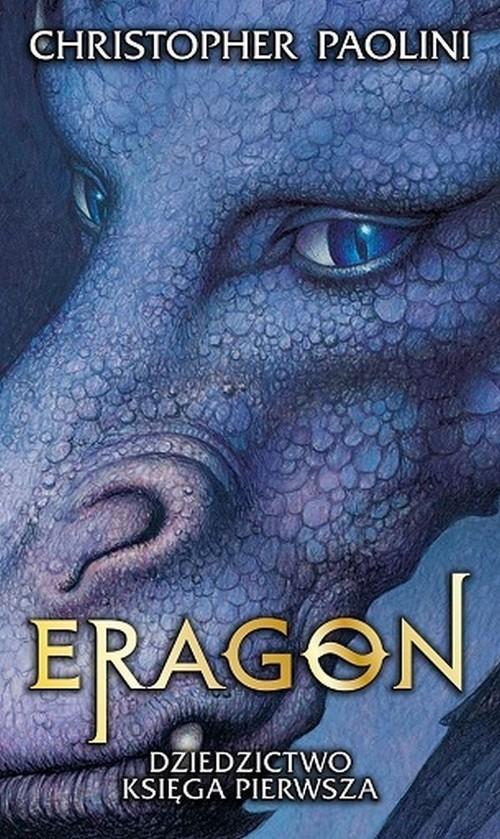 okładka Eragon Dziedzictwo Księga pierwszaksiążka      Paolini Christopher