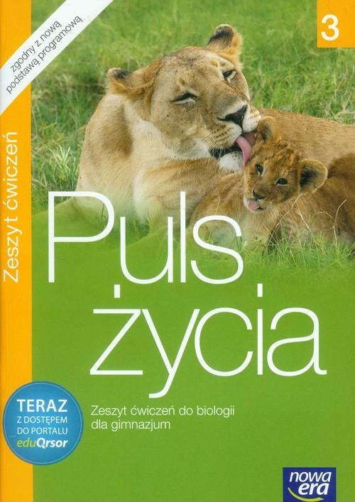 okładka Puls życia 3 Zeszyt ćwiczeń Gimnazjum, Książka | Monika Zaleska, Jacek Pawłowski, Mon Jaworska