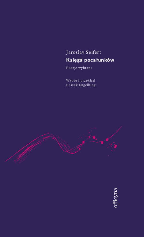 okładka Księga pocałunków, Książka | Seifert Jaroslav