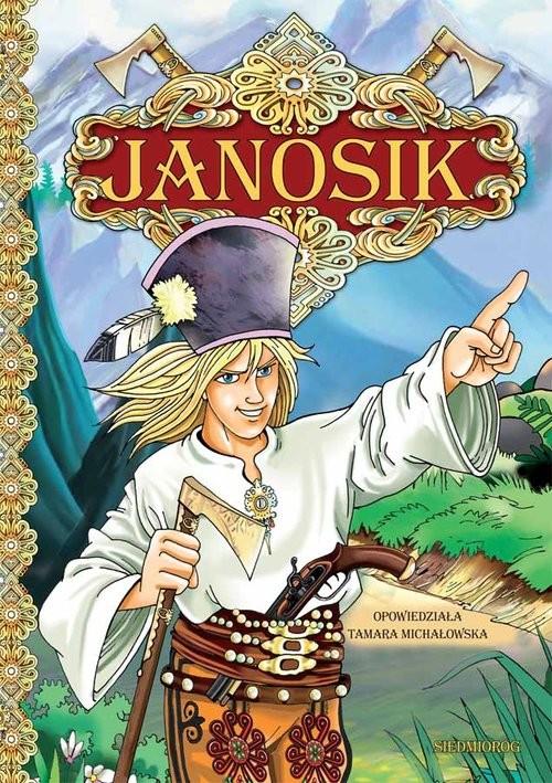 okładka Janosik, Książka | Tamara Michałowska