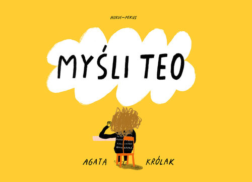 okładka Myśli Teo, Książka | Królak Agata