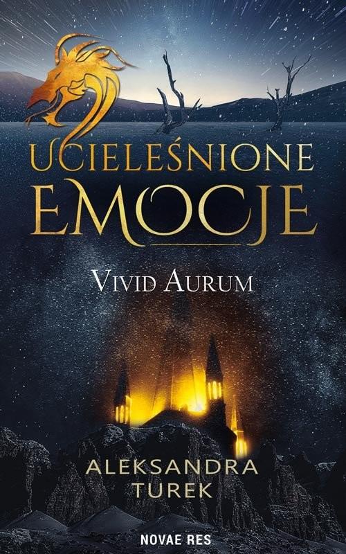 okładka Ucieleśnione emocje Vivid Aurum, Książka | Turek Aleksandra