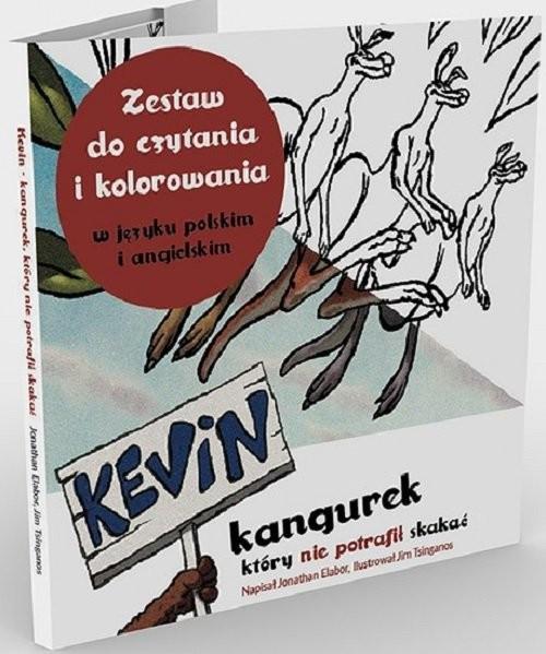okładka Kevin kangurek, który nie potrafił skakać, Książka | Jonathan Elabor, Tim Tsinganos