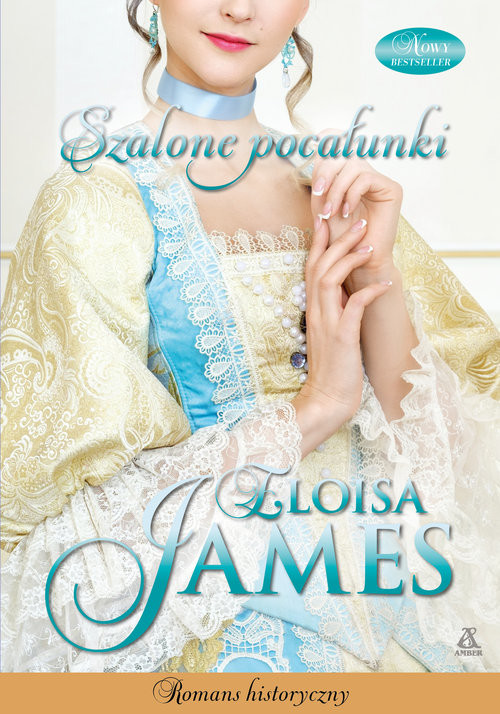 okładka Szalone pocałunki, Książka | James Eloisa