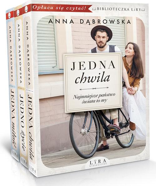 okładka Jedna chwila/Jedno życie/Jedna miłość Pakiet, Książka | Dąbrowska Anna