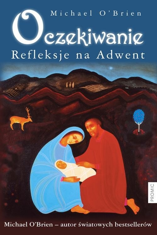 okładka Oczekiwanie Refleksje na Adwent, Książka | O'Brien Michael