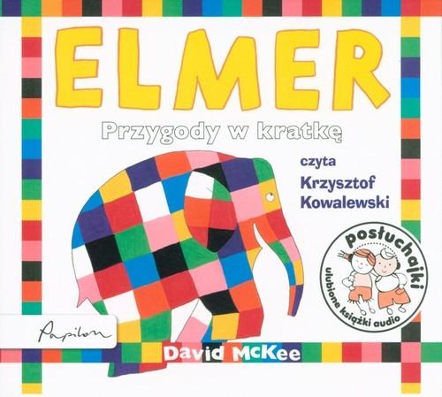 okładka Elmer Przygody w kratkę, Książka   McKee David
