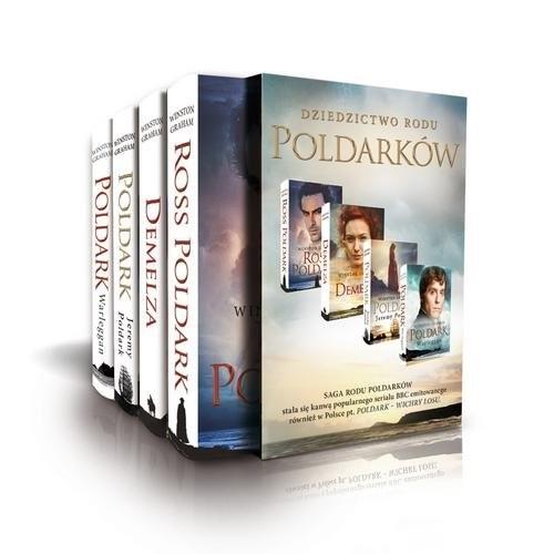 okładka Poldark Część 1-4 Pakiet, Książka | Graham Winston