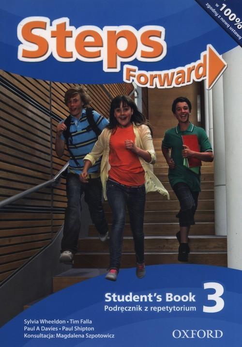 okładka Steps Forward 3 Podręcznik z repetytorium Szkoła podstawowa, Książka   Sylvia .Wheeldon, Tim Falla, Paul A. Davies, praca zbiorowa