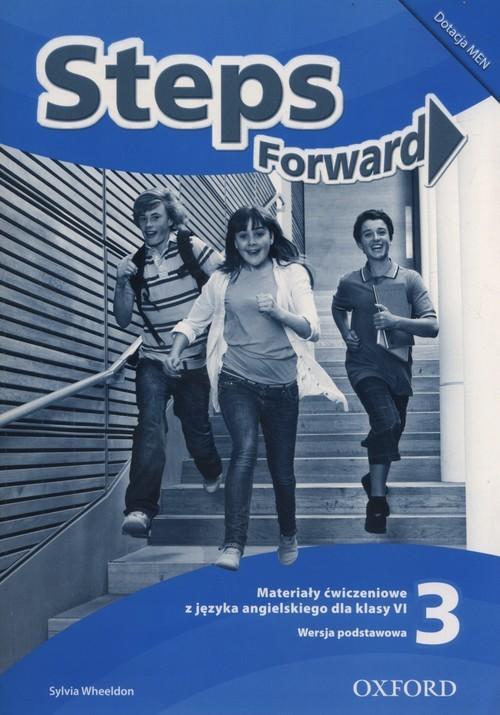 okładka Steps Forward 3 Materiały ćwiczeniowe Szkoła podstawowa, Książka | Wheeldon Sylvia