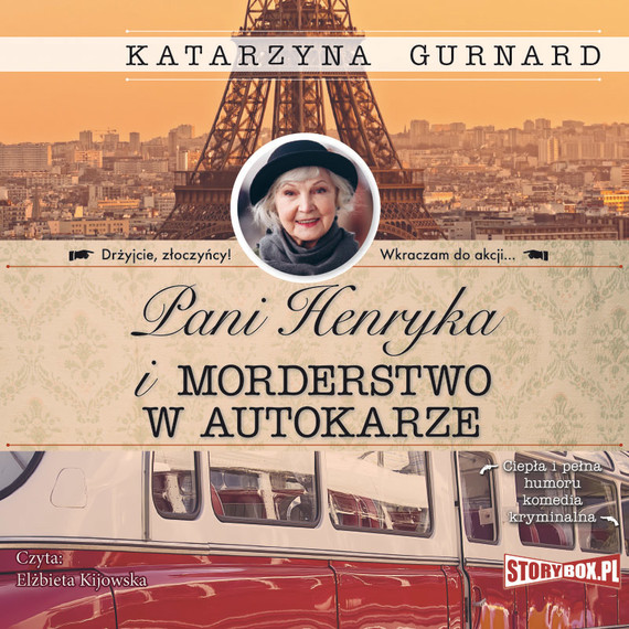 okładka Pani Henryka i morderstwo w autokarze, Audiobook | Katarzyna Gurnard