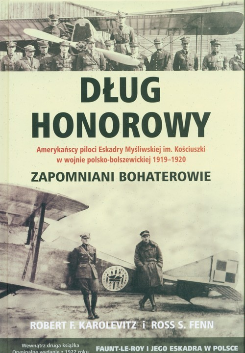 okładka Dług honorowy, Książka | Robert F. Karolevitz